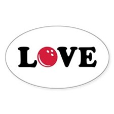 Bowling Love Decal