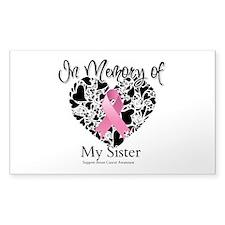 In Memory of My Sister Decal