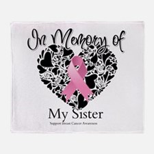 In Memory of My Sister Throw Blanket