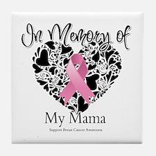 In Memory of My Mama Tile Coaster