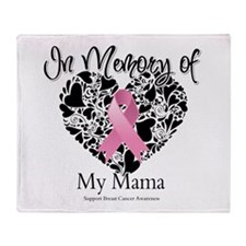 In Memory of My Mama Throw Blanket
