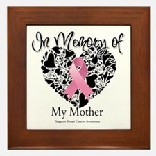 In Memory of My Mother Framed Tile
