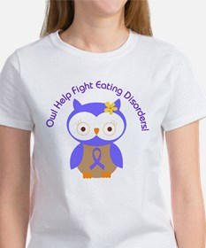 Eating Disorders Owl Tee