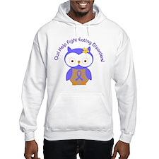 Eating Disorders Owl Hoodie