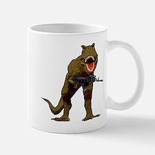 T Rex w AK Mug