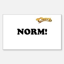 NORM! Sticker (Rectangle)