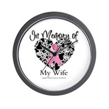 In Memory of My Wife Wall Clock