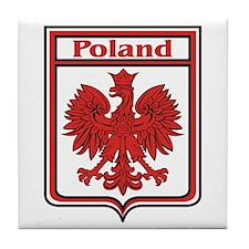 Poland Shield / Polska Tile Coaster