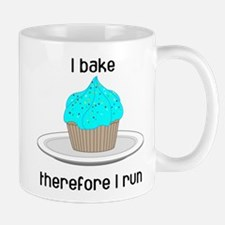 Cupcake w/Blue Frosting Mug