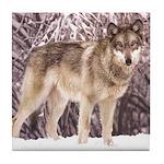 Kailani Wolf Tile Coaster