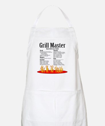Grill Master Guide BBQ Apron