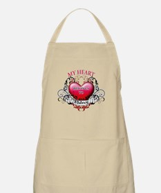 My Heart Belongs to Whitney Apron