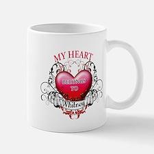 My Heart Belongs to Whitney Mug
