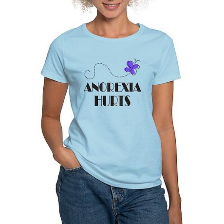 Anorexia Hurts Women's Light T-Shirt