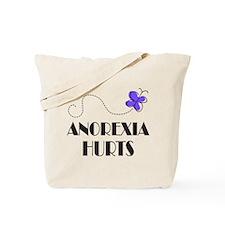 Anorexia Hurts Tote Bag