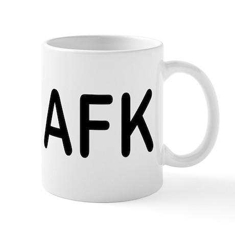 AFK Geek Humor Mug