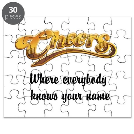 Where everybody knows your name Puzzle