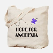 Hope For Anorexia Tote Bag