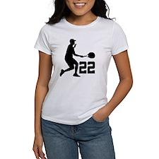 Tennis Uniform Number 22 Player Tee