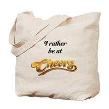 I rather be at cheers Tote Bag