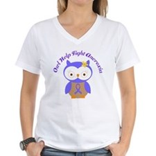 Help Fight Anorexia Periwinkle Shirt
