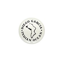 Diego Garcia Mini Button (10 pack)