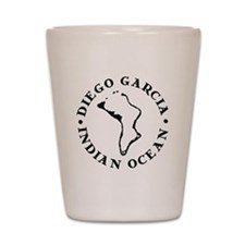 Diego Garcia Shot Glass