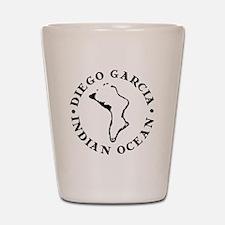 Diego Garcia Shot Glass