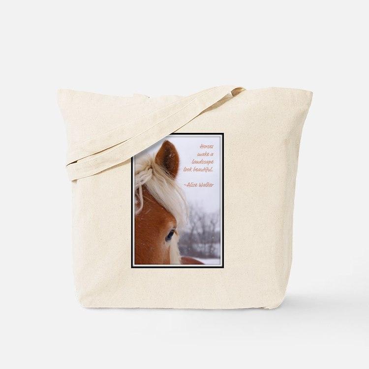 Cute Haflinger Tote Bag