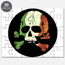 Irish Flag Skull Puzzle