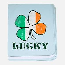 Irish Lucky baby blanket