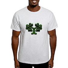 Triskele Shamrocks T-Shirt