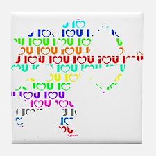 Color Cupid Tile Coaster