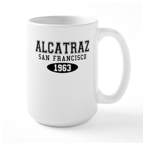 Alcatraz 1963 Large Mug