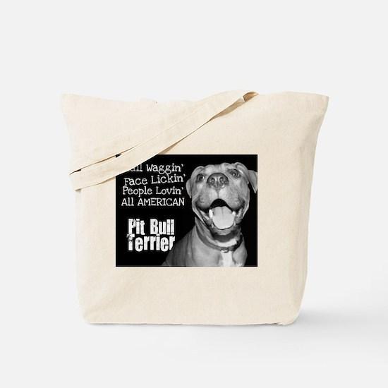 American Pit Bull Tote Bag