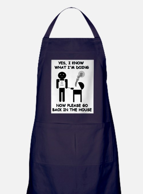 """Yes, I know what I'm doing..."" Grilling Apron (da"