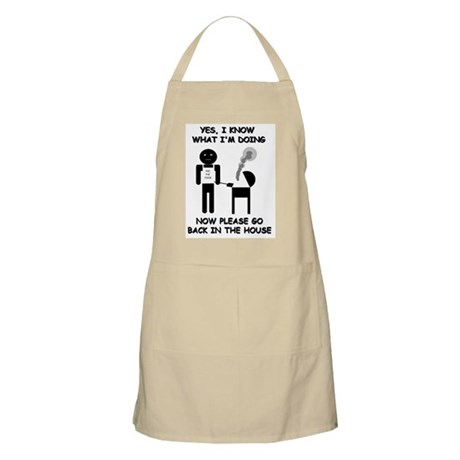 """Yes, I know what I'm doing..."" Grilling Apron"