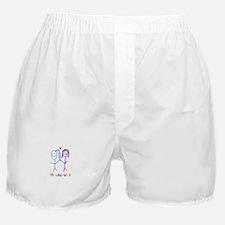 Cute Lesbian girlfriend Boxer Shorts