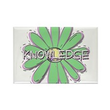 Knowledge - Young Women Value Rectangle Magnet