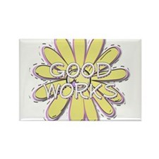 Good Works - Young Women Valu Rectangle Magnet