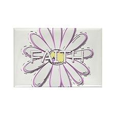 Faith - Young Women Value LDS Rectangle Magnet