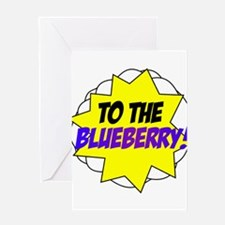 Psych, To The Blueberry! Greeting Card