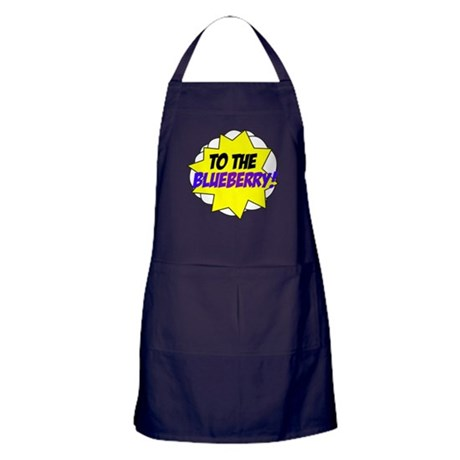 Psych, To The Blueberry! Apron (dark)