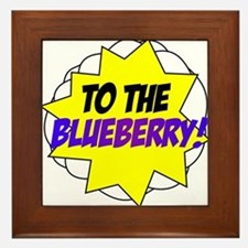 Psych, To The Blueberry! Framed Tile