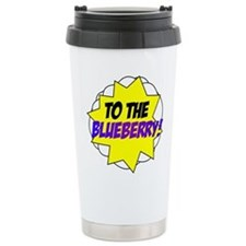 Psych, To The Blueberry! Thermos Mug