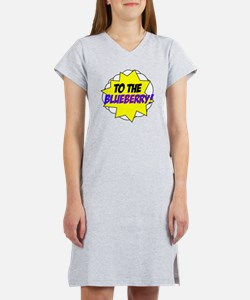 Psych, To The Blueberry! Women's Nightshirt