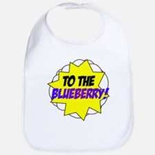 Psych, To The Blueberry! Bib