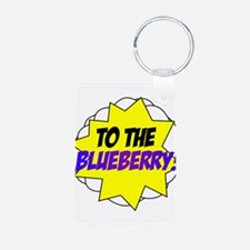 Psych, To The Blueberry! Keychains