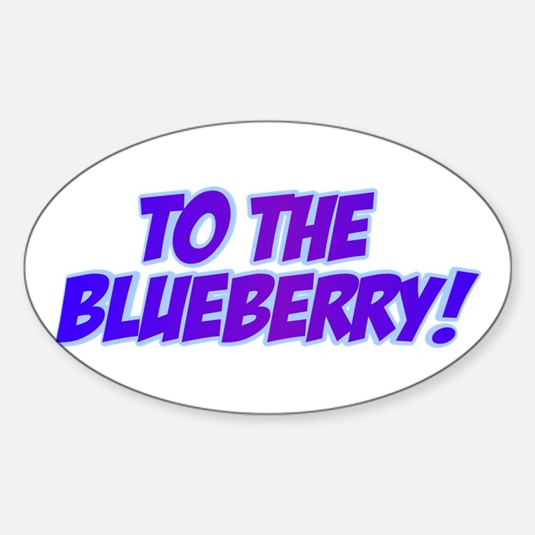 Psych, Blueberry! Decal
