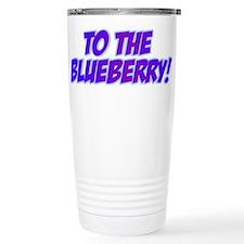 Psych, Blueberry! Travel Mug